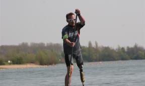 Weltrekordversuch im SUP als Mensch mit Handicap