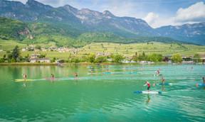 SUP Festival Kalterer See Saisonstart der SUP Alps Trophy