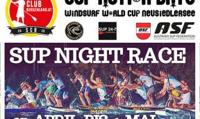 SUP Night Race auf dem Neusiedlersee