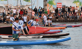 SUP Action Days am Surfworldcup in Podersdorf