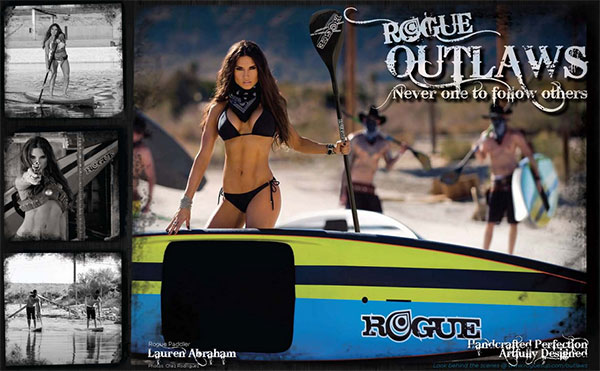 Rogue-oulaw-series-SUP-Werbung