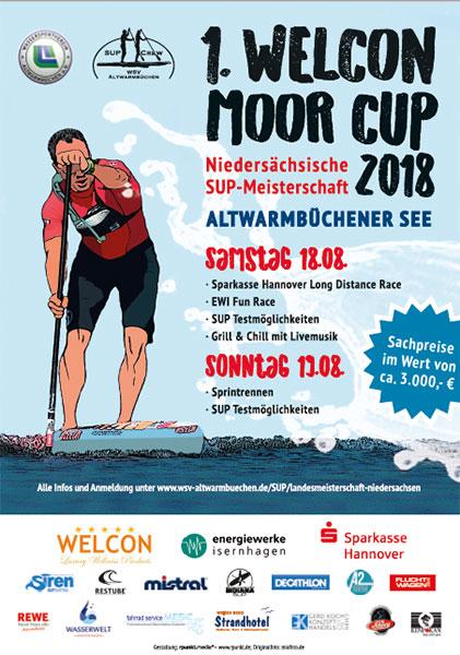 Flyer-Welcon-Moor-Cup-SUP-Meisterschaften