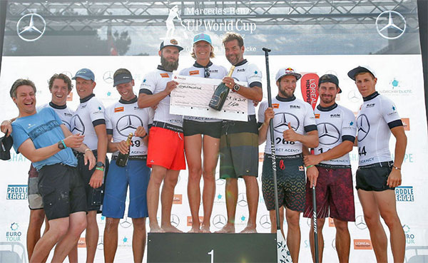 SUP-Worldcup-Charity-SUP-Rennen