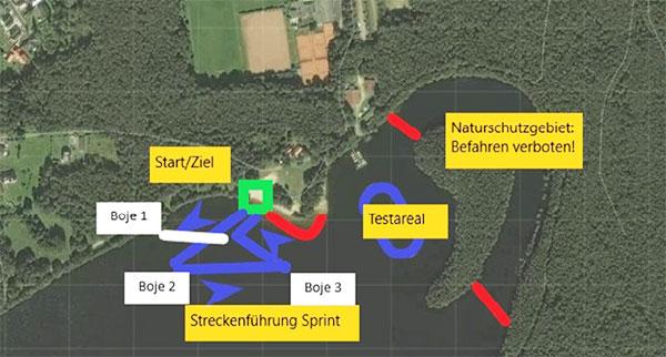Streckeninfo-Sprint-Rennen