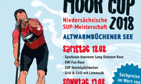 1. WELCON Moor-Cup – offene Landesmeisterschaft Niedersachsen Stand Up Paddling