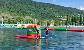 SUP Tour Schweiz Longdistance Rennen Biel
