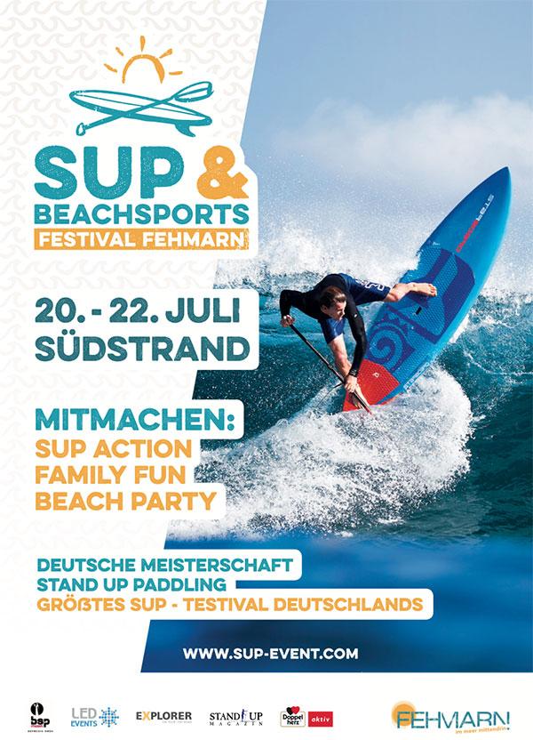 SUP-und-Beachsport-Festival-Fehmarn-Poster