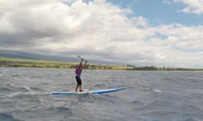 Poi Bowl SUP Rennen auf Maui