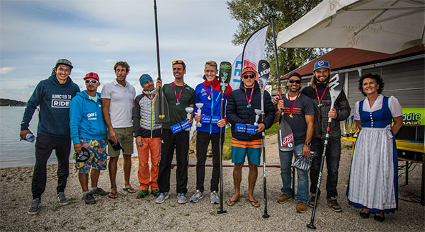 SUP-Athleten-SUP-Alps-Trophy