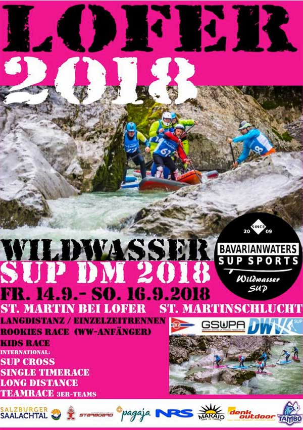 Wildwasser-SUP-Meisterschaften