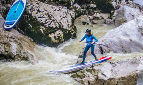 SUP Wildwasserwochenende in Lofer