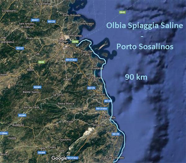 Sardinien-SUP-Tour