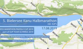 Bielersee Kanu und SUP Halbmarathon