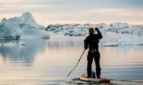 Mit dem SUP nach Grönland