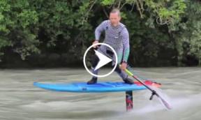 Foilen auf dem Fluss