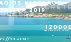 Agois Nikolaos on SUP EURO TOUR