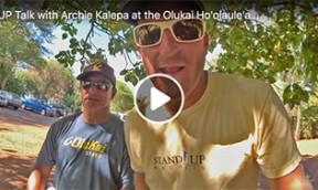 SUP Talk Archie Kalepa