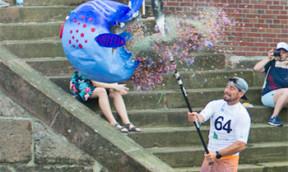 Kick the Fisch Stand Up Paddler sind begeistert