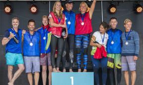ICF SUP World Cup Scharbeutz startet mit Charity-Race bei perfekten Bedingung