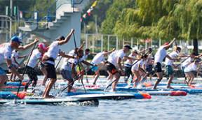 SUP Schweizermeisterschaften auf dem Genfersee