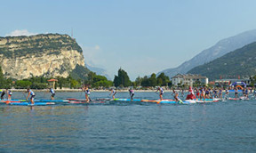 Finale der SUP Alps Trophy am Gardasee