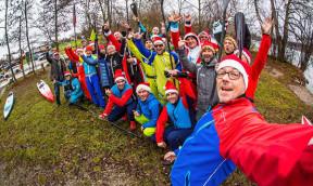 SUP Nikolaus am Wörthsee hat schon Tradition