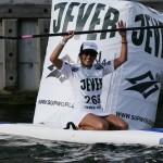 5km Amateur Siegerin Andrea Johnson