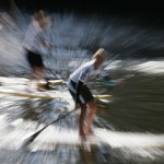 Paddelsprint am Jever SUP Worldcup