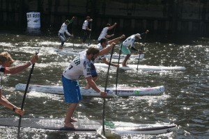 Stehpaddler Amateure