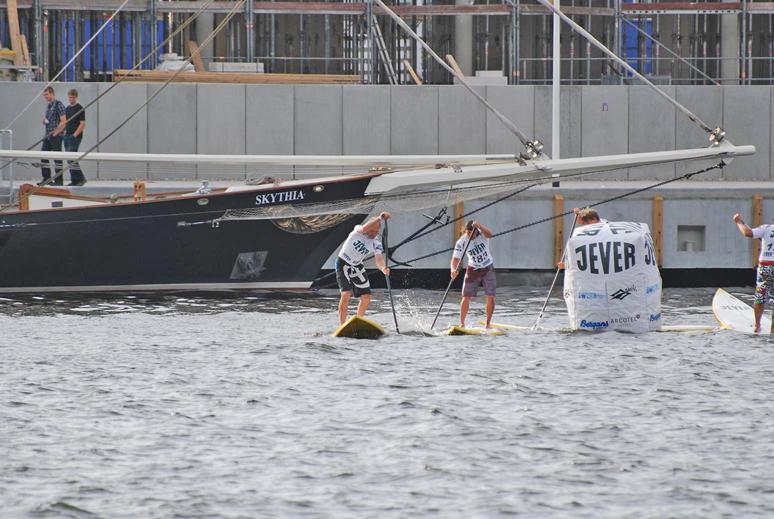 Rostock SUP Rennen Olaf Schwarz