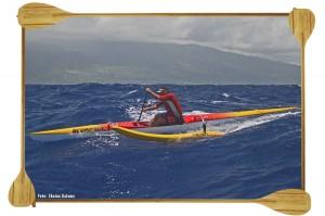 Dave Kalama one man canoe