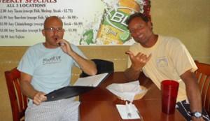 Mike Jucker and Dave Kalama