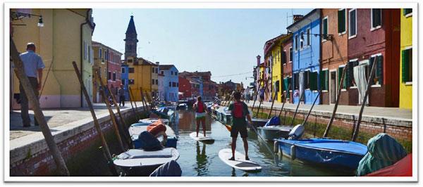 Stand-Up-Paddeln-in-Venedig