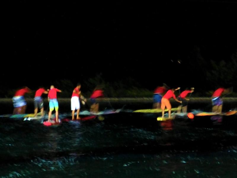 Nacht SUP Rennen