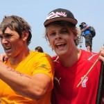 Casper Steinfath und Jamie Mitchell