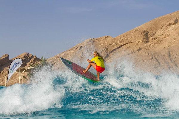 Izzi-Gomez-surfing-the-wadi-water-park