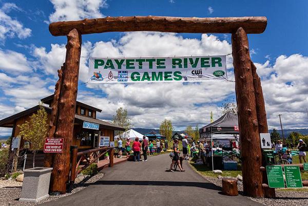 Payette-River-Games-village
