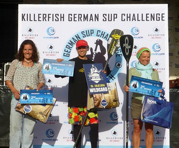 Siegerinnen-Killerfish-German-SUP-Challenge