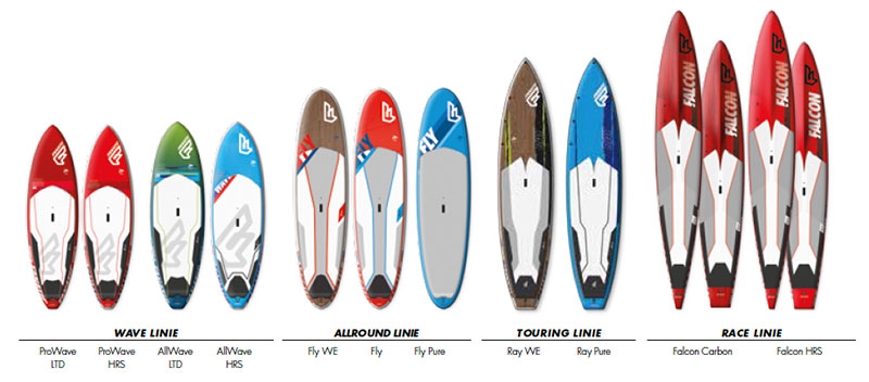 Fanatic-2015-SUP-Board-Range