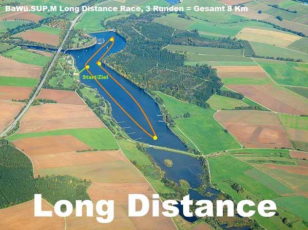 SUP-Rennstrecke-Longdistance