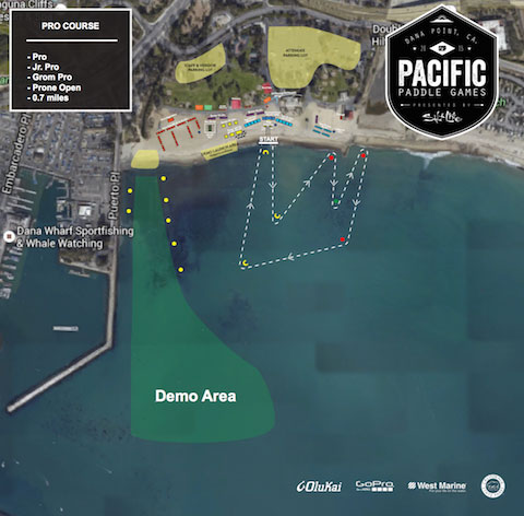 Pacific-Paddle-Games-Sprint-Course