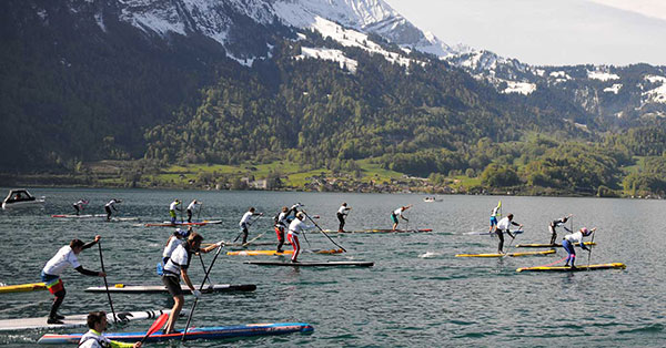 SUP-Rennen-Thunersee