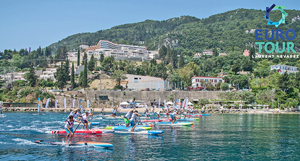 EURO-TOUR-SUP-Rennen-Korfu