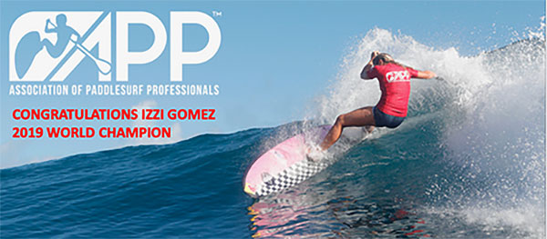 Izzi-Gomez-Weltmeisterin